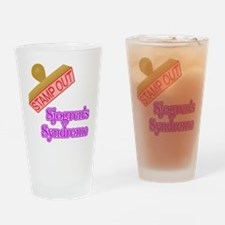 Sjogrens Syndrome Drinking Glass