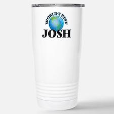 World's Best Josh Stainless Steel Travel Mug