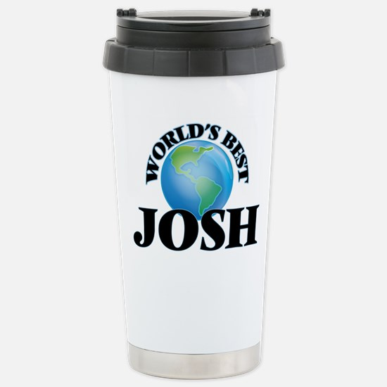 World's Best Josh Stainless Steel Travel Mug