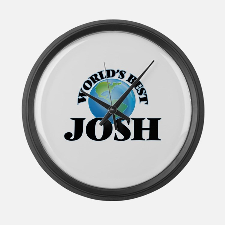 World's Best Josh Large Wall Clock