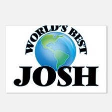 World's Best Josh Postcards (Package of 8)