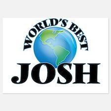 World's Best Josh Invitations
