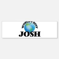 World's Best Josh Bumper Bumper Bumper Sticker