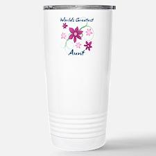 World's Greatest Aunt ( Travel Mug