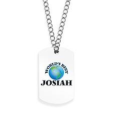 World's Best Josiah Dog Tags