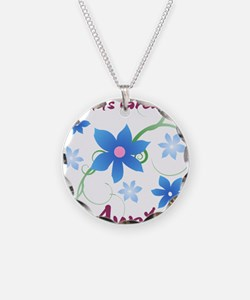 World's Greatest Aunt (Flowe Necklace