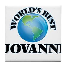 World's Best Jovanni Tile Coaster