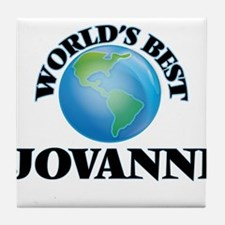 World's Best Jovanni Tile Coaster