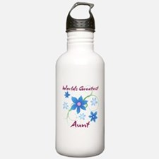 World's Greatest Aunt Sports Water Bottle