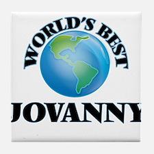 World's Best Jovanny Tile Coaster