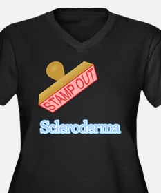 Scleroderma Plus Size T-Shirt