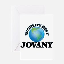 World's Best Jovany Greeting Cards