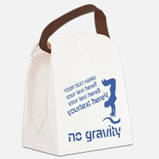 Skater No Gravity Canvas Lunch Bag