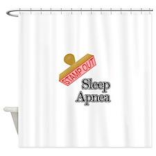 Sleep Apnea Shower Curtain