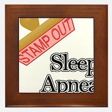 Sleep Apnea Framed Tile