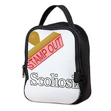 Scoliosis Neoprene Lunch Bag