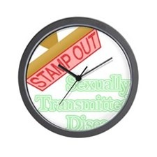Sexually Transmitted Diseases Wall Clock