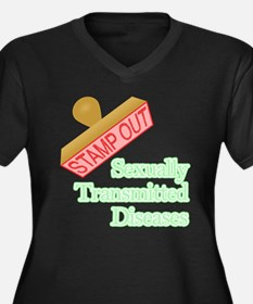 Sexually Transmitted Diseases Plus Size T-Shirt