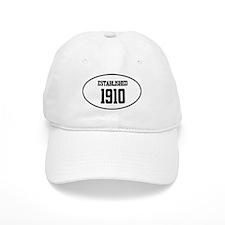 Established 1910 Baseball Cap