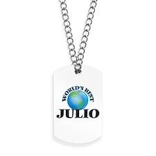 World's Best Julio Dog Tags