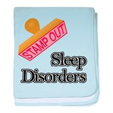 Sleep Disorders baby blanket