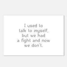 I Used To Talk To Myself Postcards (Package of 8)