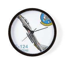 vf124logo10x10_apparel copy.jpg Wall Clock