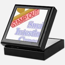 Small Intestine Cancer Keepsake Box