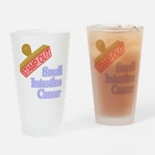 Small Intestine Cancer Drinking Glass
