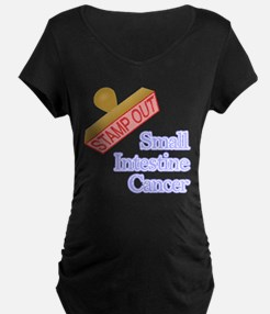 Small Intestine Cancer Maternity T-Shirt