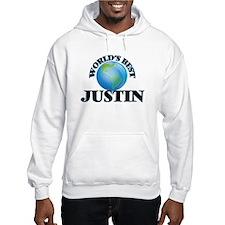 World's Best Justin Hoodie