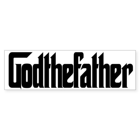 God The Father Bumper Sticker