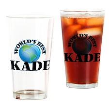 World's Best Kade Drinking Glass