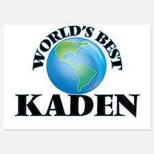 World's Best Kaden Invitations
