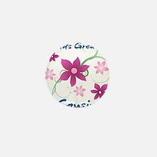 World's Greatest Cousin (Flowery) Mini Button