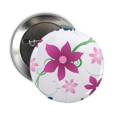 "World's Greatest Cousin (Flowery) 2.25"" Button"