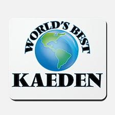World's Best Kaeden Mousepad