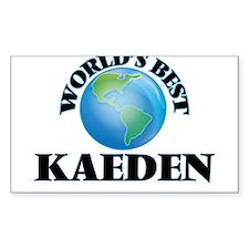 World's Best Kaeden Decal