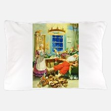 Mrs. Claus and Santa After Christmas Pillow Case