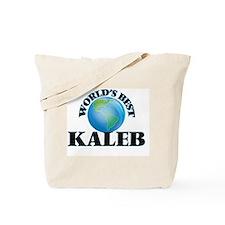 World's Best Kaleb Tote Bag