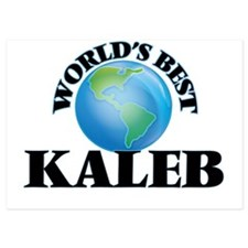 World's Best Kaleb Invitations
