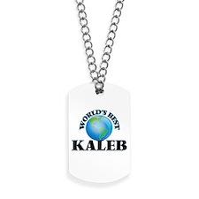World's Best Kaleb Dog Tags
