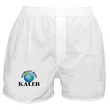 World's Best Kaleb Boxer Shorts