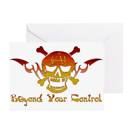 Anarchist Skull Greeting Cards (Pk of 10)