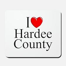 """I Love Hardee County"" Mousepad"