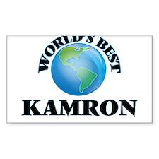 World's Best Kamron Decal