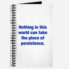 Nothing in this world can take the place of persis