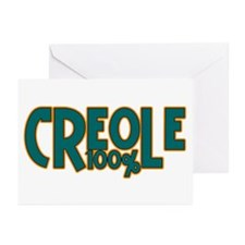 100% Creole Greeting Cards (Pk of 10)