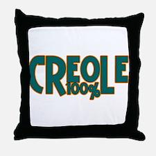 100% Creole Throw Pillow