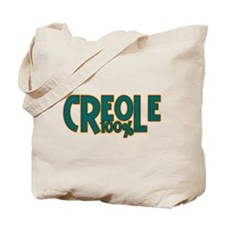 100% Creole Tote Bag